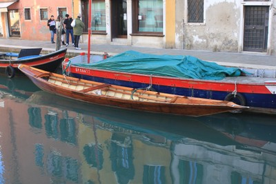 What to do in Venice - different boat types