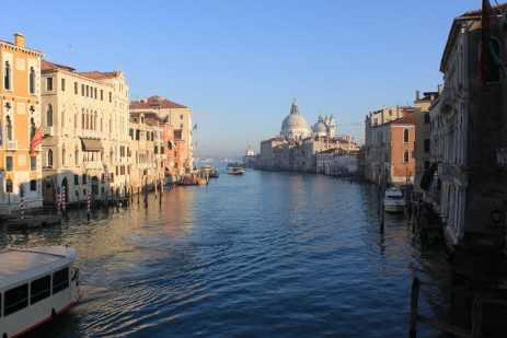 Venice guide - Grand Canal from Accademia