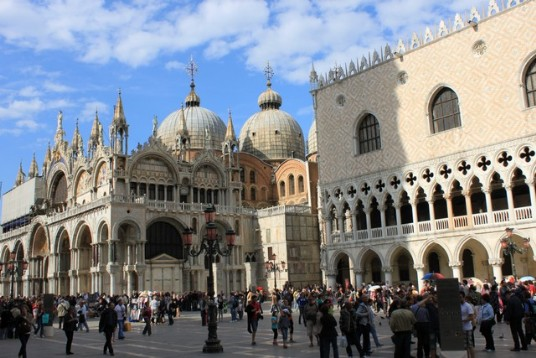 Venice guide - St Mark square