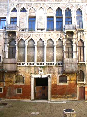 Venice museums - palazzo Fortuny
